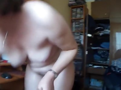 older russian wife sucks and copulates