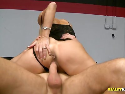 A married MILF starved for cock