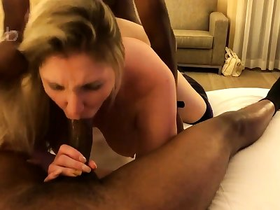 Big ass MILF interracial comic