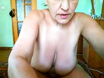 Mature bosomy big breast mature