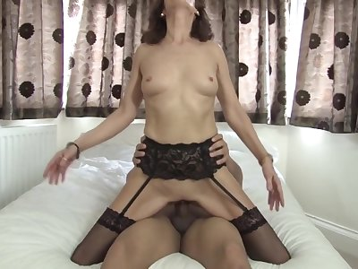 Sexy British Lady and Toys Boy
