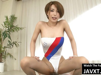 Perfect Japanese Babe In Swimsuit Fucked - hitomi tanaka