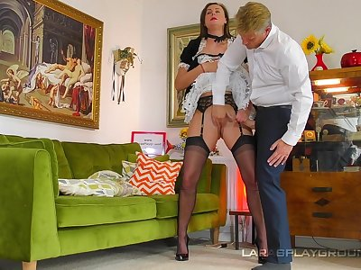 Be transferred to mature maid is willing to do anything for the bloke