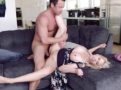 Married generalized cheats with the hot neighbor who's dick is burly
