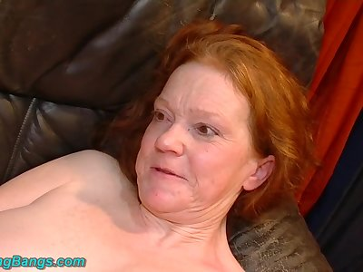 Naff chubby MILFs major rough fist fuck orgy