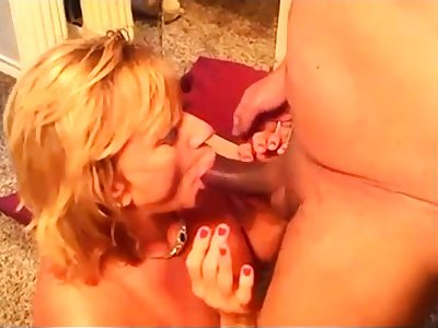 Lovely mature amateur housewife interracial c