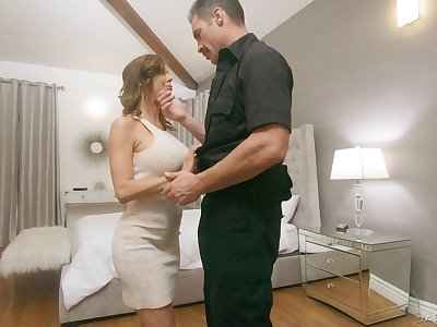Bobby fucks juggy wife Alexis Fawx in front of her husbands
